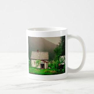 Quaint Norwegian Cottage Coffee Mug