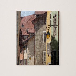 Quaint Old Buildings in Annecy, France Jigsaw Puzzle