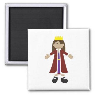Quaint Queen Rag Doll Magnet