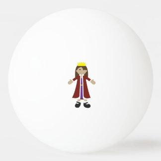 Quaint Queen Rag Doll Ping-Pong Ball