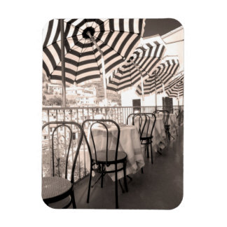 Quaint restaurant balcony, Italy Magnet