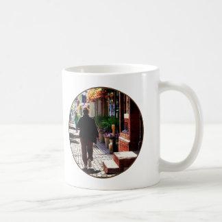 Quaint Street Alexandria VA Coffee Mug
