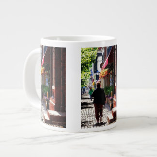 Quaint Street Alexandria VA Giant Coffee Mug