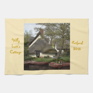 Quaint Thatched Cottage of Willy Lott, Flatford Towel