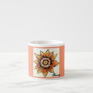 Quaint Tiger Flower Beauty Espresso Cup