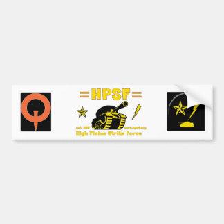 Quake HPSF Sticker Car Bumper Sticker