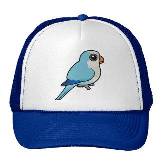 Quaker azul gorros bordados