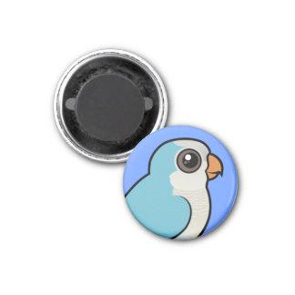 Quaker azul imán redondo 3 cm