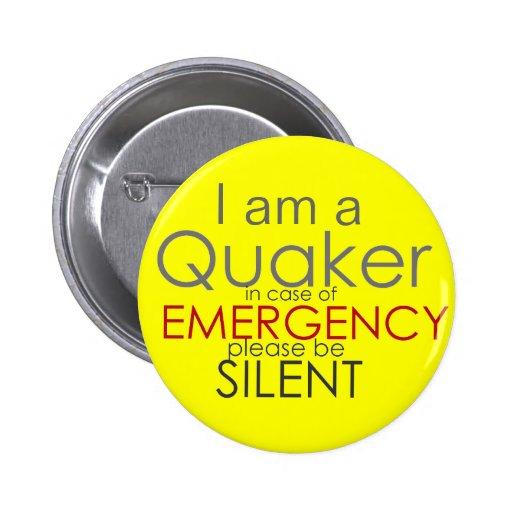 Quaker - emergencia pins