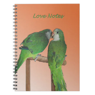 Quaker love notes notebook