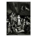Quaker Meeting, 1699 Greeting Card