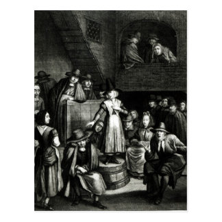 Quaker Meeting, 1699 Postcard
