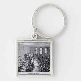 Quaker Meeting, Philadelphia Keychain