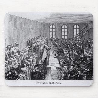 Quaker Meeting, Philadelphia Mouse Pad