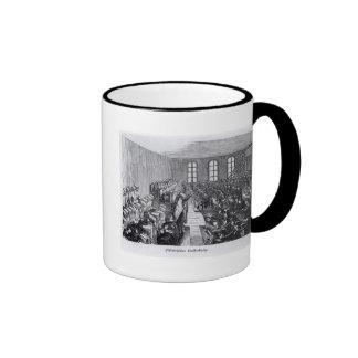 Quaker Meeting, Philadelphia Ringer Coffee Mug