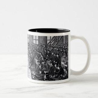 Quaker Meeting, Philadelphia Two-Tone Coffee Mug