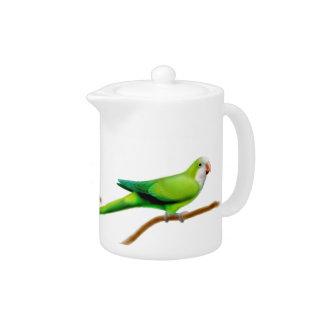 Quaker Monk Parrot Teapot