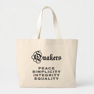 Quaker Motto Bags