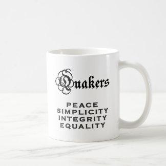 Quaker Motto Classic White Coffee Mug