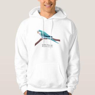 Quaker Parakeet Hoodie