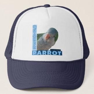 Quaker Parakeet Photo Trucker Hat