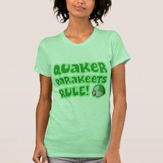 Quaker Parakeets Rule Ladies' T Shirt