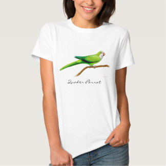 Quaker Parrot Ladies Babydoll Shirt