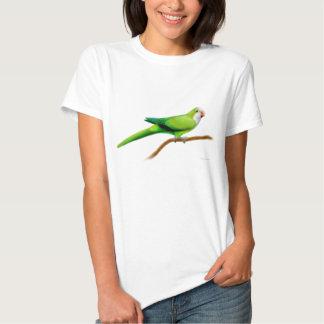 Quaker Parrot Ladies Babydoll Tshirt