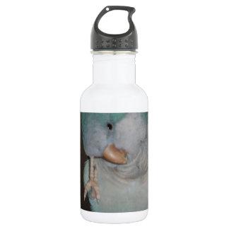 quaker parrot 18oz water bottle