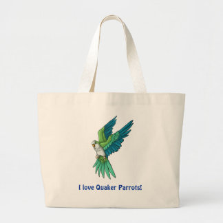 Quaker Parrot Products Large Tote Bag