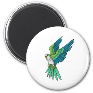 Quaker Parrot Products Refrigerator Magnet