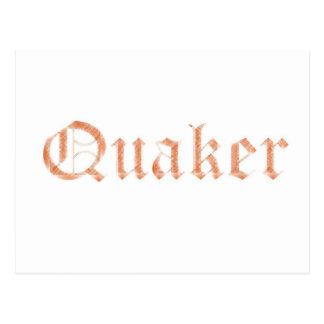 Quaker Postcard
