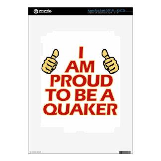 Quaker religious designs iPad 3 skin