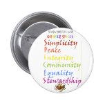 Quaker Spices Pinback Buttons