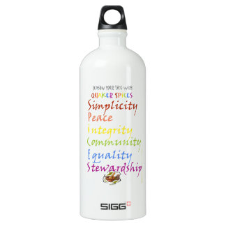 Quaker Spices Water Bottle