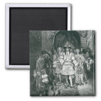 Quaker y rey en Whitehall Imán Cuadrado