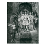 Quaker y rey en Whitehall Postales