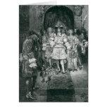 Quaker y rey en Whitehall Tarjeta De Felicitación