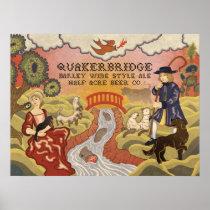 Quakerbridge Barley Wine Style Ale Poster