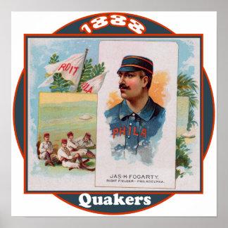 Quakers de Philadelphia Poster