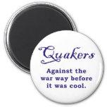Quakers - guerra imán de nevera