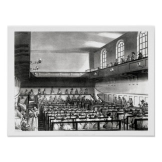 Quakers Meeting, from Ackermann's Poster