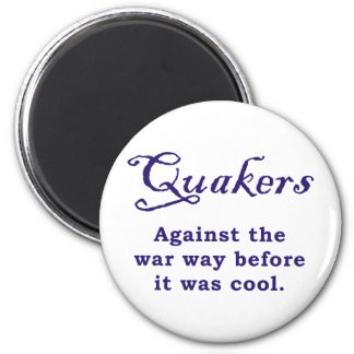 Quakers - War 2 Inch Round Magnet