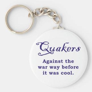 Quakers - War Key Chain