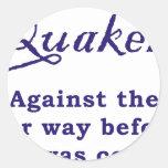 Quakers - War Sticker