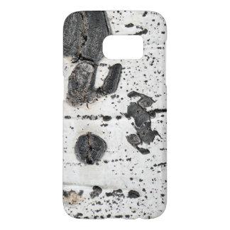 Quaking Aspen Bark Close Up Photograph Samsung Galaxy S7 Case