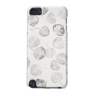 Quaking Aspen Black White Pattern iPod Touch (5th Generation) Cover