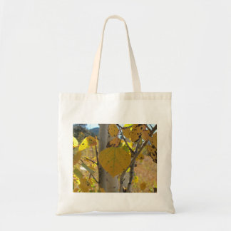 Quaking Aspen Leaf Tote Bag