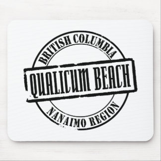 Qualicum Beach Title Mouse Pad