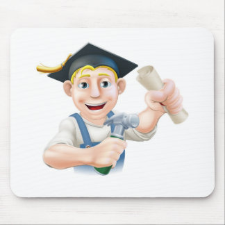 Qualified carpenter mouse pad